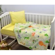"""Комплект постельного белья """"Джунгли/желтый"""""""