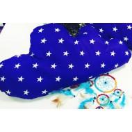 """Подушка """"Облачко синее в звезды"""" декоративная в детскую комнату"""
