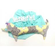 Подушка Такса желтая ( декоративная в детскую комнату)