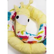 Бортик-змейка №2 в кроватку для новорожденных